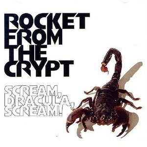 Scream, Dracula, Scream! album cover