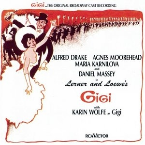 Gigi (1974 Original Broadway Cast Recording)  album cover