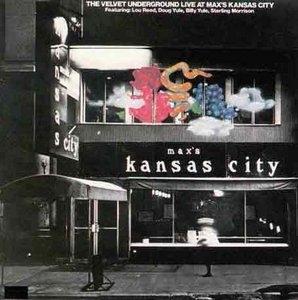 Live At Max's Kansas City album cover