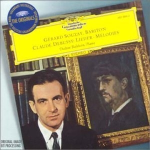 Debussy: Melodies album cover