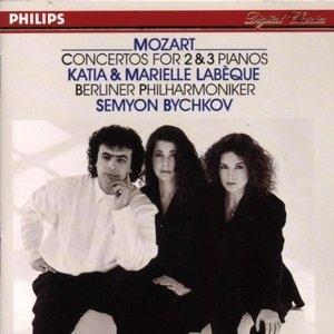 Mozart: Concertos For 2 & 3 Pianos album cover