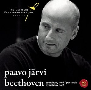 Beethoven: Symphonies No. 6 Pastoral & 2 album cover