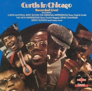 Curtis In Chicago album cover