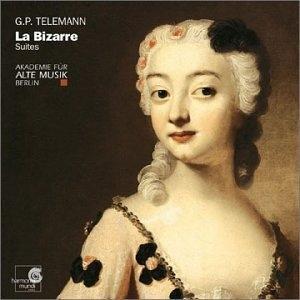 G.P. Telemann: La Bizarre Suites album cover