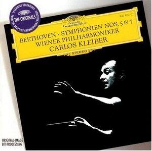 Beethoven: Symphonies Nos. 5 & 7 album cover