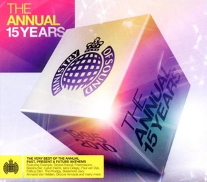Ministry Of Sound: The Annual 15 Years album cover