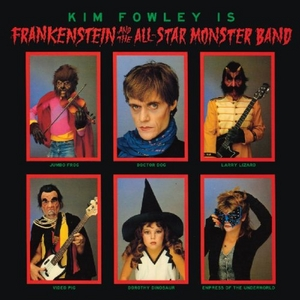 Frankenstein And The All-Star Monster Band album cover