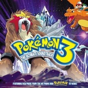 Pokémon 3 Movie Soundtrack album cover