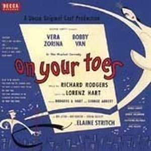 On Your Toes (1954 Broadway Revival Cast) album cover
