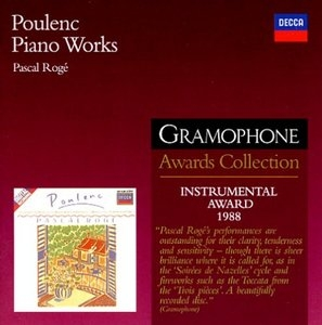 Poulenc: Piano Works album cover