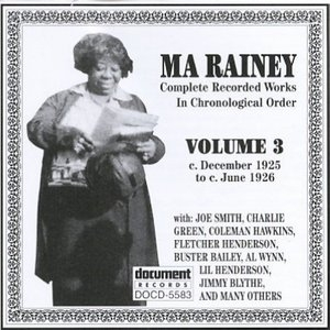 Complete Recorded Works-Vol.3 (1925-1926) album cover