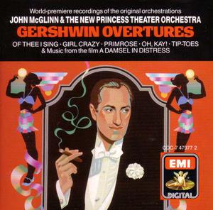 Gershwin Overtures album cover