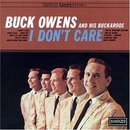 I Don't Care album cover