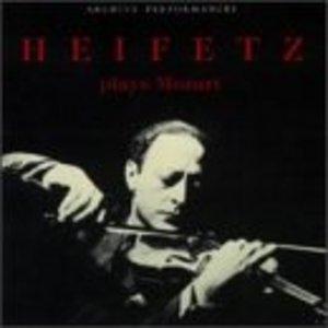 Heifetz Plays Mozart album cover