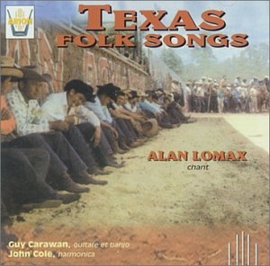Texas Folk Songs album cover