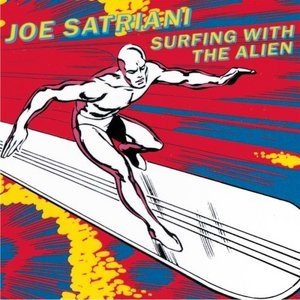Surfing With The Alien album cover