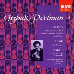 Bartok: Violin Concerto album cover