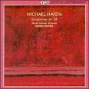Michael Haydn-Symphonies 26-28 album cover