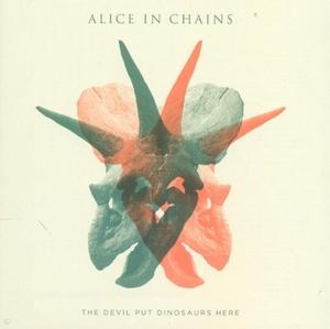 The Devil Put Dinosaurs Here album cover