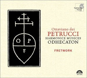 Petrucci: Harmonice Musices Odhecaton album cover