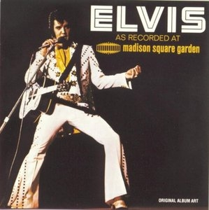 Elvis As Recorded At Madison Square Garden album cover