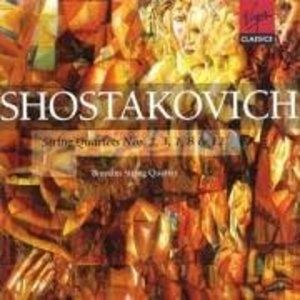 Shostakovich: String Quartets Nos. 2, 3, 7, 8, & 12 album cover