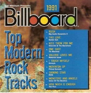 Billboard Top Modern Rock Tracks: 1991 album cover