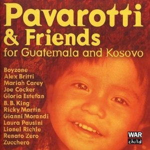 Pavarotti & Friends: For Guatemala And Kosovo album cover