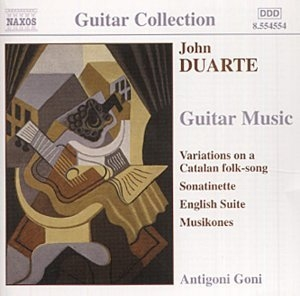 Duarte: Guitar Music album cover