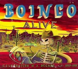 Boingo Alive album cover