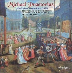 Praetorius: Dances From Terpsichore (1612) album cover