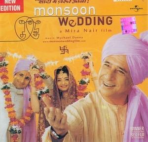 Monsoon Wedding: Original Motion Picture Soundtrack album cover