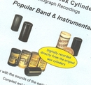 Wax Cylinder: Popular Band And Instrumental album cover