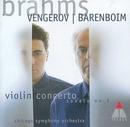 Brahms: Violin Concerto~ ... album cover