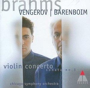 Brahms: Violin Concerto~ Violin Sonata album cover