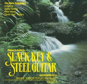 Hawaii's Favorite Slack Key Guitar Instrumentals, Vol.2 album cover