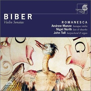 Biber: Violin Sonatas album cover
