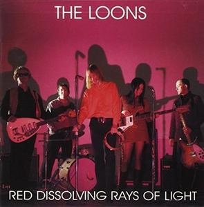 Red Dissolving Rays Of Light album cover