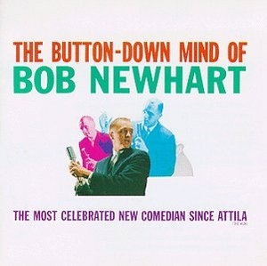 The Button-Down Mind Of Bob Newhart album cover