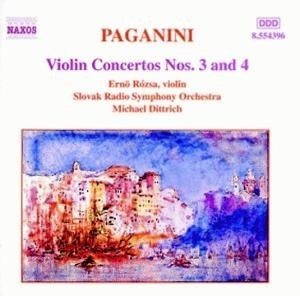 Paganini: Violin Concertos Nos. 3 And 4 album cover