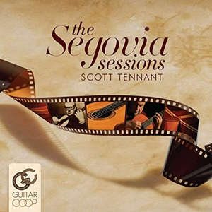 The Segovia Sessions album cover