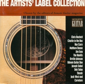 The Artists' Label Collection: Acoustic Guitar album cover