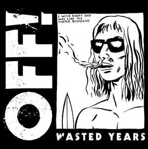 Wasted Years album cover