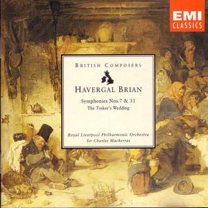 Brian-Symphonies No.7 And 31 album cover