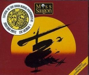 Miss Saigon (1989 Original London Cast) album cover