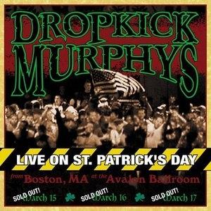 Live On St. Patricks Day album cover