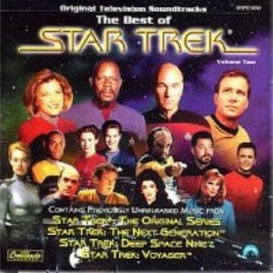 The Best Of Star Trek Vol.2 (Original Television Soundtrack) album cover