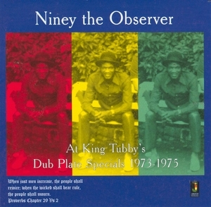 At King Tubby's Dub Plate Specials 1973-1975 album cover