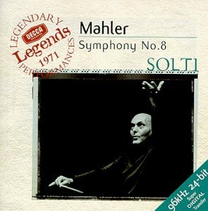 Mahler: Symphony No.8 album cover