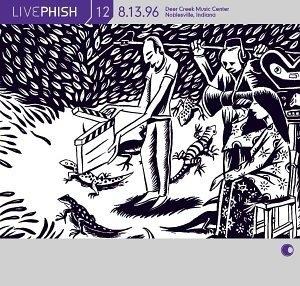 Live Phish Vol.12 album cover